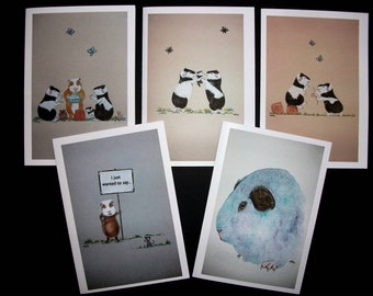Five Assorted Notecards Pack