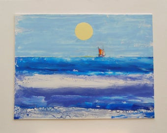 Contemporary painting, large