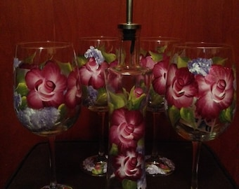 Extra large Wine Glasses - Custom order