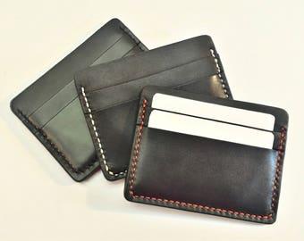 Leather weave holder (5 pockets)