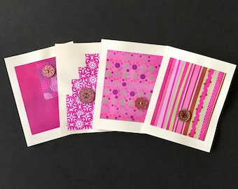 HandMade Greeting Cards (Passion Pink)