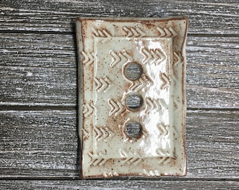 Soap Dish Handmade Pottery Soap Dish Soap Saver Pottery Bathroom Decor Soap Holder Bathroom Accessory Mothers Day Gift for Her