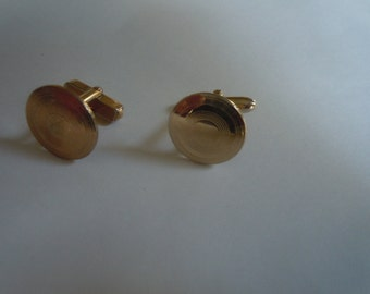 Cool 1950s Gold Swank Cuff Links