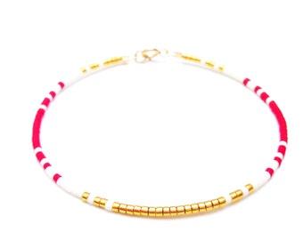 Minimal Bracelet Layering Bracelet Simple Beaded Bracelet Simple Bracelet Minimal jewelry