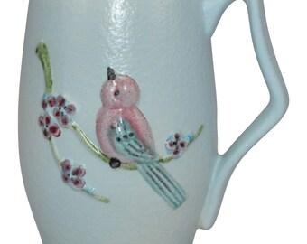 Hull Pottery Serenade Blue Mug S22
