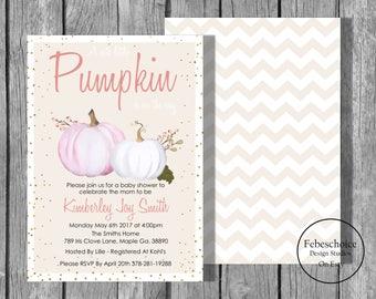 Printable Fall Baby Shower Invitations / Fall Baby Shower Invite / Baby Shower Invitation / Gender Neutral Baby Shower Invitation