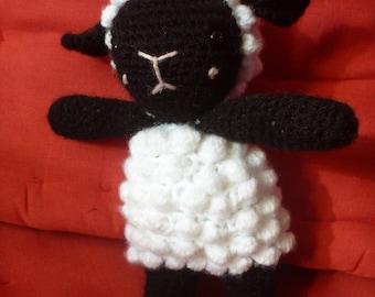 amigurumi crochet sheep foam sheep