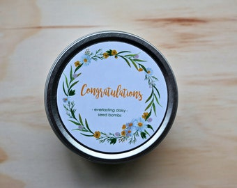 Congratulations! seed bombs