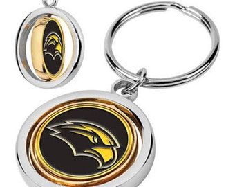 Southern Mississippi Eagles Spinner Keychain