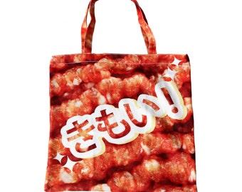 gross tote bag | meat punk creepy cute goth medical guro jfashion