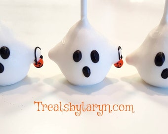Ghost cake pops. Jack cake pop. Nightmare before christmas. Halloween cake pop. Halloween treat. Halloween goodies. Halloween party.