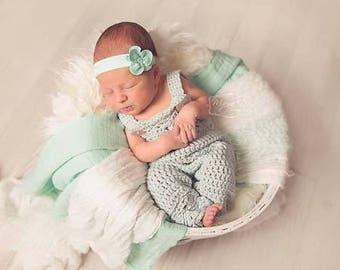 Crochet Pattern, Crochet Baby Girl Pattern, Crochet Overalls Pattern, Newborn Crochet  Pattern, Crochet Clothing Pattern for Baby Girl