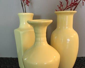 Ceramic Bud Vase Set-Pastel Collection
