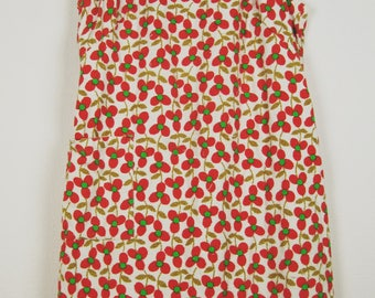 Vintage 70s Terrycloth Beach Dress / Cover Up