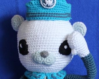 Octonauts Captain Barnacles - Barnacles Pattern, Amigurumi Barnacles, Crochet Barnacles, Octonauts crochet, crochet gift for child