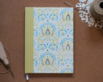Ornamented Hardcover Notebook A5