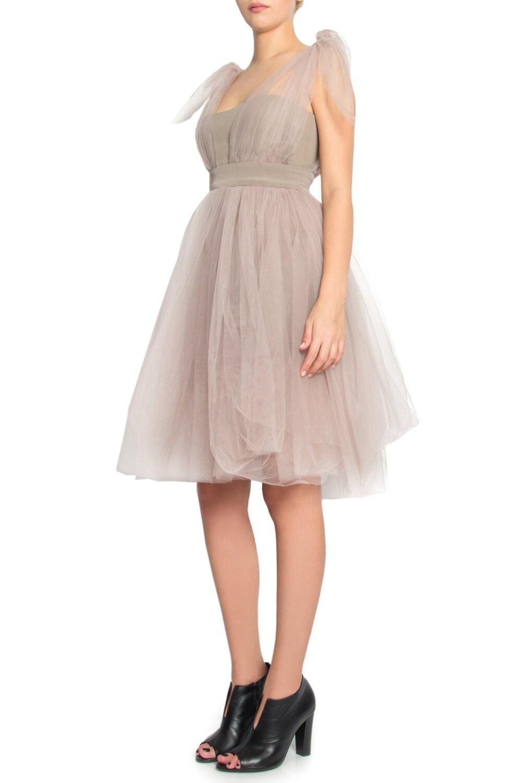 Wunderschöne Soft Tüll-Kleid tragen 3 Way