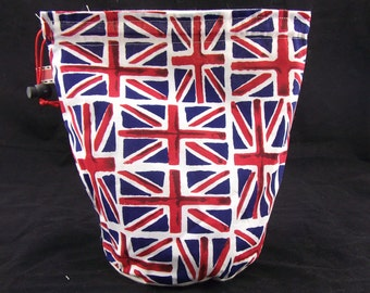 R/M/L/W Union Jack project bag