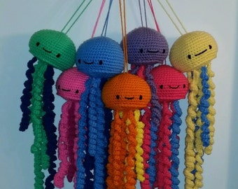 Crochet Jellyfish/ any colors