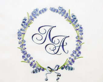 Machine Embroidery Design - Fragrant lavender