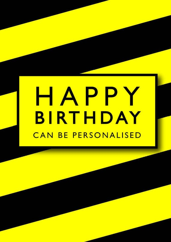 Manchester's Hacienda music scene inspired Birthday greeting card