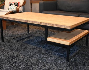 Bamboo Modern Coffee Table