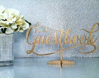 Guestbook Sign, Wedding Sign, Guestbook Table Sign,  Wedding Signage, Reception Sign, Wedding Decor, Be Our Guest Sign, Wedding Guestbook