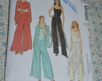 McCalls 6515 Misses Pants Sewing Pattern UNCUT Size 6 8 10 12 14