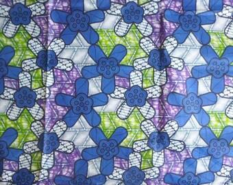 telas africanas. 2 yardas. 100% algodón