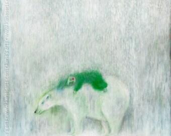 snow soul - limited edition archival print ( Giclée )