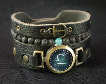 Men's Aquamarine Bracelet