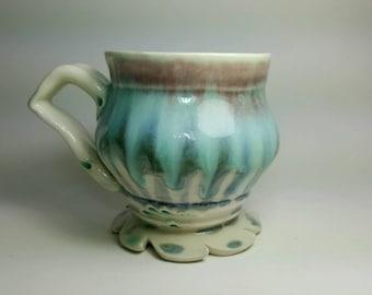 Waterfall Porcelain coffee Mug cup