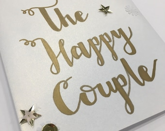 The Happy Couple! Wedding Day Congratulations card!