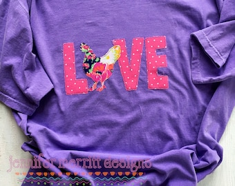 Chicken Love Tshirt, Chicken Love, Chicken Shirt