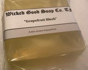 Grapefruit Blush Olive Oil Soap