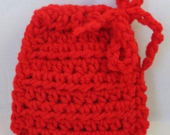 Rec Crochet Coin Pouch