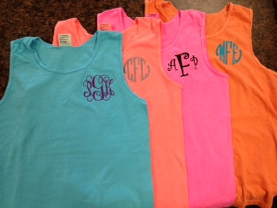 and comfort color tees product embroidery high comforter monogrammed colors tanks adult tide