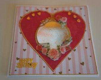 Postcards Unique Handmade 3d card