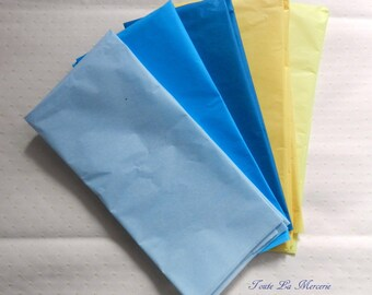 lovely set of sheets of tissue paper