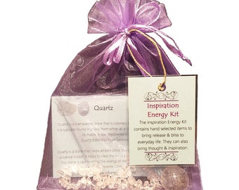 Inspiration Chip Bracelet Energy Kit, Crown Chakra Energy Kit