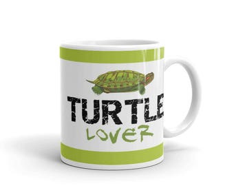 Gift for Turtle Lover - Turtle Mug - Turtle Lover