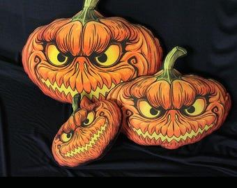 Halloween Pumpkin Pillow Halloween Home Decor Halloween Pillow Halloween decoration Fall decor