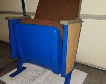 Vintage Movie Theater Theatre Auditorium Seat Chair 1978 Art Deco