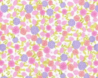 Spring Fling Collection from Michael Miller, Fleur in Lavendar, Yard