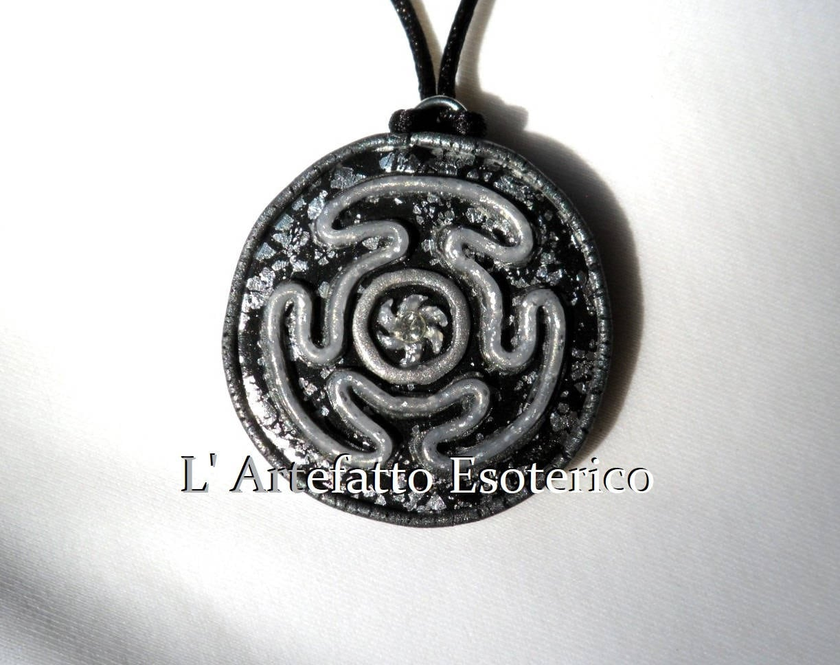 necklace alchemy symbol necklaces ouroboros pendant dp pewter hecate amazon jewelry com