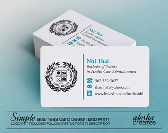 """Rounded Corner Custom Business Cards (1/8"""") - Various Quantities"""