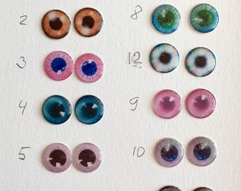 Eyechips eye chips for Blythe doll handmade pick your color