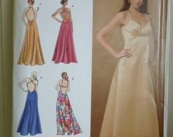 Simplicity 3735 Evening or prom dress Misses Evening Gown - Sew Stylish Collection sewing pattern new uncut size 12-14-16-18