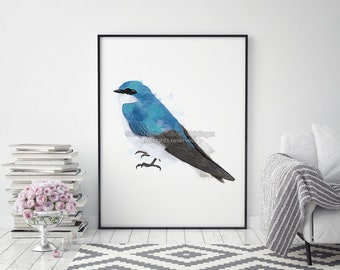Bird Print, Animal Print, Living Room Wall Art, Kitchen Decor, Large Wall Art, Bedroom Wall Art, Bird Wall Art, Nursery Wall Art, Bird Art