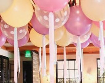 4 Colors - 36 inch Jumbo Latex Balloons Wedding Birthday Prom Party Decoration Supplies Centerpieces Reception Baby Shower Floated w Helium